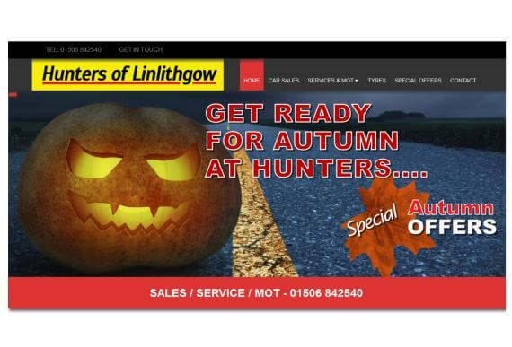 Hunters Garage Linlithgow